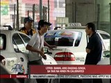 Complaints filed vs taxi drivers
