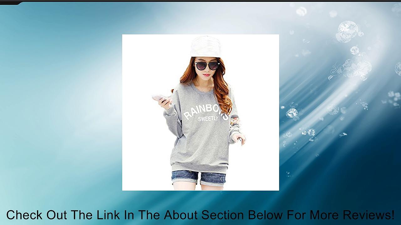 Yonger Girl Floral T-shirt Crewneck Blouse Long Sleeves Hoodies Review
