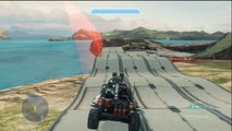 Awesome Halo 4 Stunt Race Map - Race Map Reviews EP.2