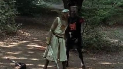 Black Knight - Monty Python and The Holy Grail