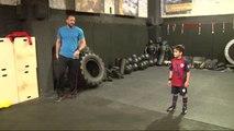 Dünya Kick Boks Şampiyonu Badr Hari'den Nefes Kesen Antrenman