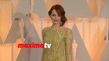 Emma Stone   Oscars 2015   Fashion Arrivals