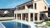 Nekretnine otok Krk | Luksuzna kamena villa smještana u prekrasnoj uvali Punat