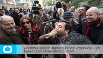 Lebanese Satirist Appears Before Prosecutor Over Tweet Deemed Insulting to Islam
