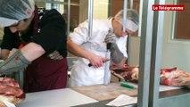 Guipavas (29) La finale régionale des apprentis  bouchers au CFA