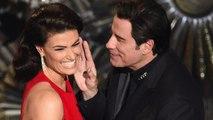 John Travolta Gets Weird With Idina Menzel at the Oscars