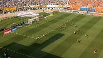 Robinho scores trademark Robben goal for Santos