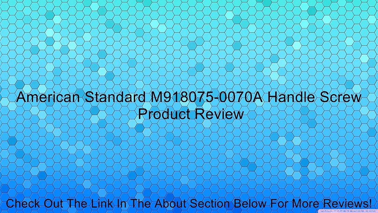 American Standard M918075-0070A Handle Screw