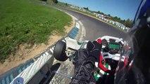 Karting TonyKart Rotax Max à Pusey le 07-08-2010_Run-2 (720p 60fps)