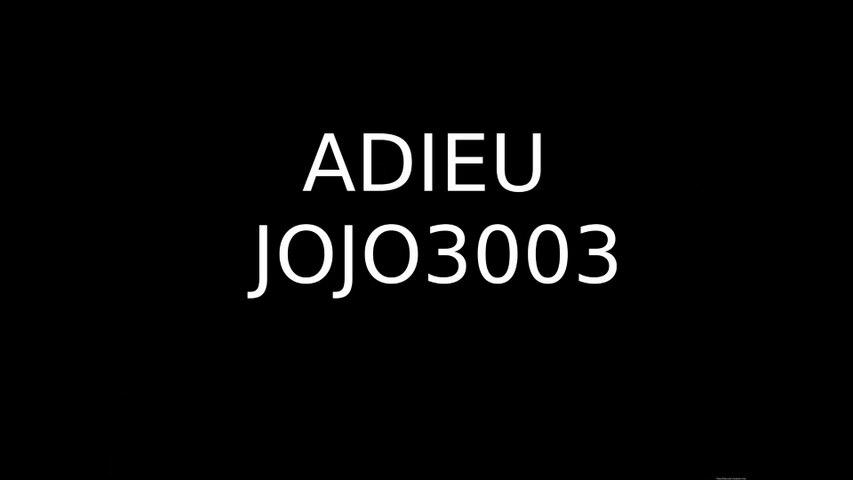 ADIEU JOJO3003