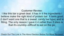 PaleoLife Paleo Bars - NO GLUTEN/SOY/DAIRY! (Box of 8 Extra-Large Premium Paleo Bars) - Primal Cocoa-Nut flavor Review