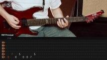 Livin' On A Prayer - Bon Jovi (guitar lesson - aula de guitarra)