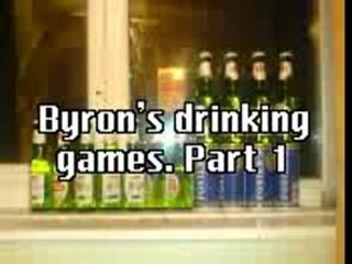 Byron's drinking