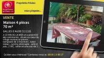 A vendre - maison - SALLES D AUDE (11110) - 4 pièces - 70m²