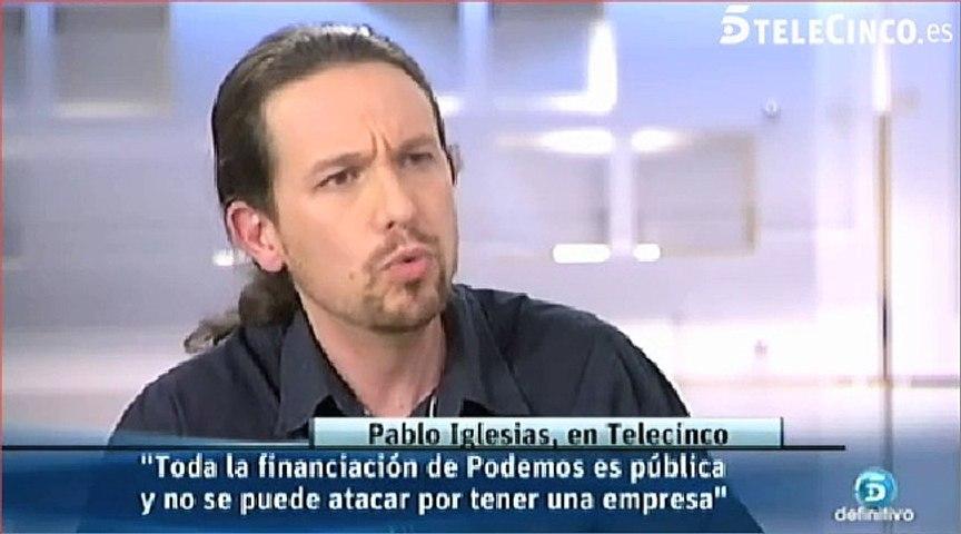 Pulla de Pablo Iglesias a Un tiempo nuevo