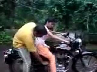 lady riding bike funny