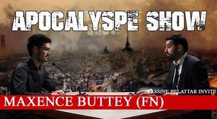 """""""C'est grâce au FN que je me suis converti à l'Islam"""" - Maxence Buttey dans APOCALYPSE SHOW"""