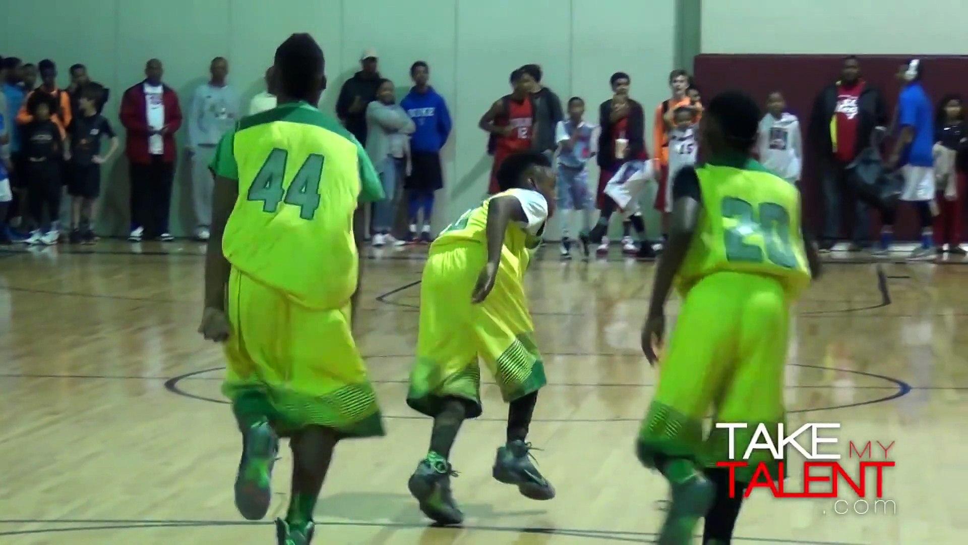 Le fils de LeBron James (10 ans) en démonstration  au John Lucas All-Star Weekend