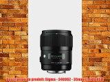 Sigma Objectif 35 mm F14 DG HSM ART - Monture Sony
