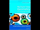 Multiple View Geometry in Computer Vision Richard Hartley PDF Download