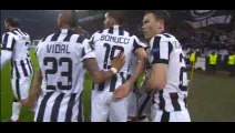 Tévez Goal - Juventus 1-0 Borussia Dortmund - 24-02-2015 Champions League - Playoffs
