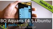 Das erste Ubuntu-Phone der Welt im Hands-on-Video – Test