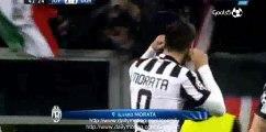 Alvaro Morata Goal Juventus 2 - 1 Borussia Dortmund Champions League 24-2-2015