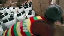 Distribution of Ebola protection kits, Monrovia