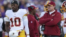 Why did Gruden name RGIII starting quarterback now?