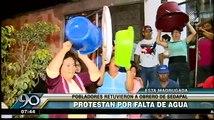 Independencia: Vecinos secuestran a trabajador de Sedapal por falta de agua