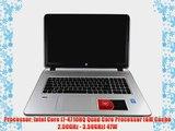 HP Envy 17t i7-4710HQ 16GB 1TB HDD Blu Ray 17.3 Windows 8.1 Laptop Computer