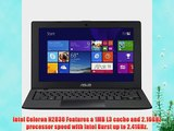 Asus X200MA 11.6 Touch Screen Laptop - Intel Celeron N2830 / 4GB Memory / 500GB HD / Webcam