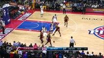 LeBron James Sets Assists Record - Cavaliers vs Pistons - February 24, 2015 - NBA Season 2014-15