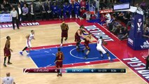 Tayshaun Prince Rejects LeBron James - Cavaliers vs Pistons - February 24, 2015 - NBA Season 2014-15