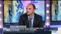 """""""Wizbii"""" : le grand réseau professionnel des étudiants et des jeunes diplômés : Benjamin Ducousso - 25/02"""