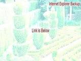 Internet Explorer Backup Crack [internet explorer backup history 2015]