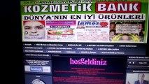 İNTERNETTE GÜVENLİ ALIŞVERİŞ www.kozmetikbank.com