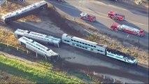 Etats-Unis : 30 blessés dans un accident de train