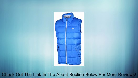 Nike Men's Alliance Puffer Down Fill Sport Casual Vest Blue