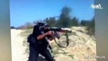 """Le """"papere"""" dell'Isis, in video gli incidenti dei jihadisti"""