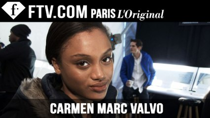 Carmen Marc Valvo Hair & Makeup | New York Fashion Week NYFW | FashionTV