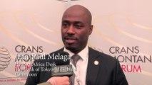 JEAN-PAUL MELAGA - Crans Montana Forum (Jean-Paul Carteron) - Nouveaux Leaders