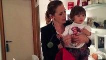 BARBARADURSO.COM - Guardate la piccola Maria nel mio camerino!! Sono pazza di questo video...Fa le imitazioni!