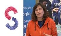 Justine Bec volontaire du Service Civique à Unis Cité Lens pour lutter contre la précarité énergétique auprès de publics agés ou dans la précarité