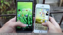 [Review dạo] So sánh chi tiết HTC One M8 và iPhone 5s