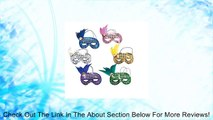 Dozen Mardi Gras Sequin and Feather Assorted Masks [Toy] Review