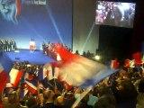Congrès Front National de Lyon de Novembre 2014 - Accueil de Marine Le Pen