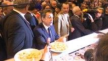 Nicolas Sarkozy et François Fillon au Salon de l'agriculture ce mercredi