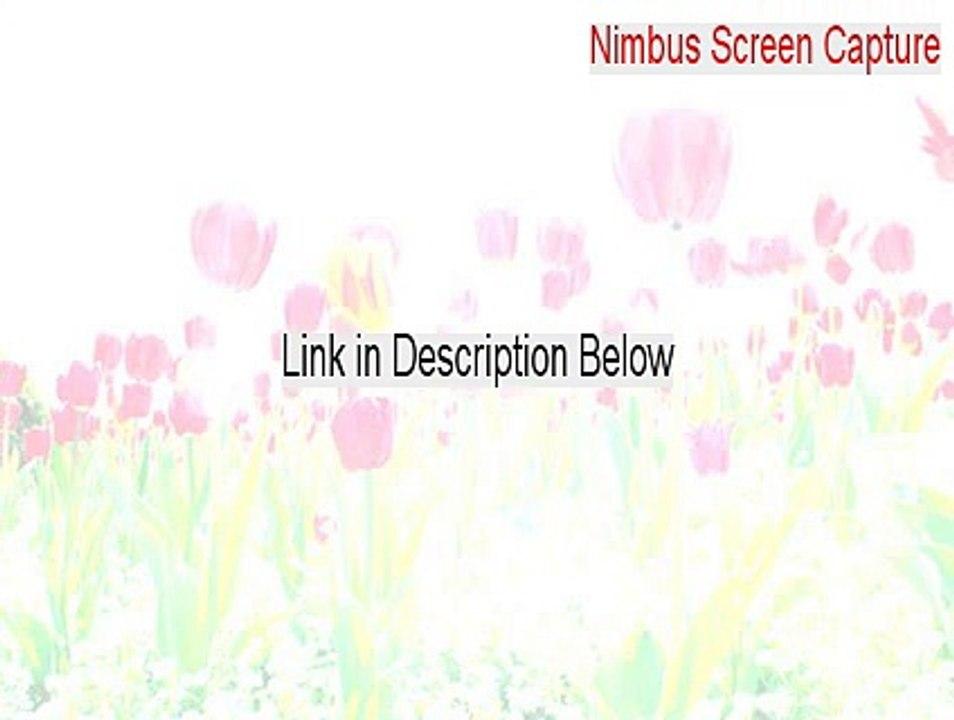 Nimbus Screen Capture Keygen [Instant Download]