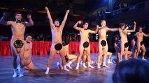 Des élèves dansent nus sur Dj Ozma Drinkin' Boys
